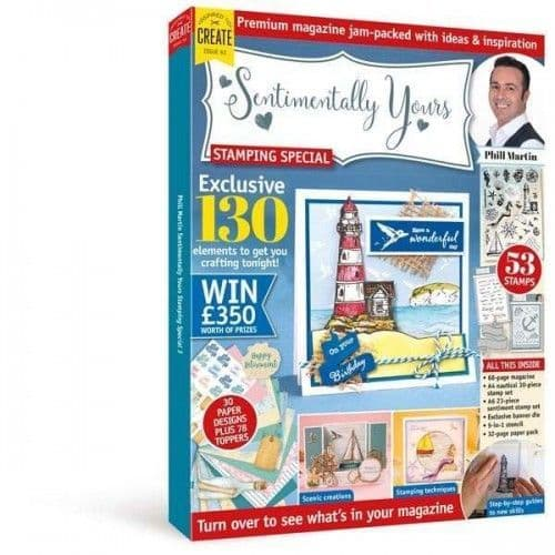 Sentimentally Yours Box Kit - 3rd Edition with Limited Edition Watercolour Shore Papers