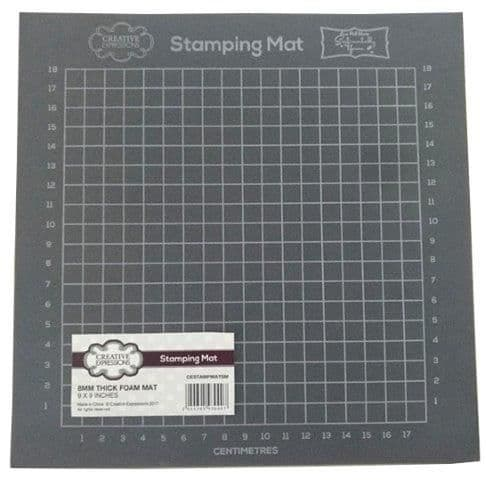 "Stamping Mat by Phill Martin 9"" x 9"""
