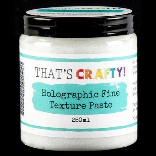 That's Crafty! Holographic Fine Texture Paste 250ml