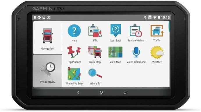 Garmin Dezl 780 LMT-D 7 Inch Truck Sat Nav with Full Europe Lifetime Maps, Traffic and Bluetooth
