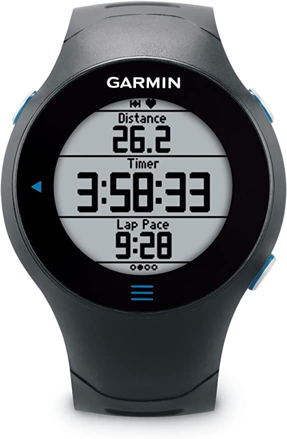 Garmin Forerunner 610 GPS Running Watch with Heart Rate Monitor - Black