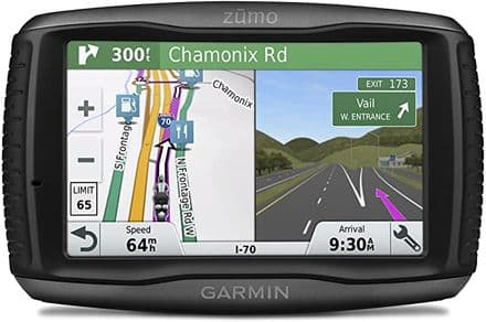Garmin ZUMO 595LM 5 Inch Motorbike satnav with UK, Full Europe Maps, Free Lifetime Map Updates