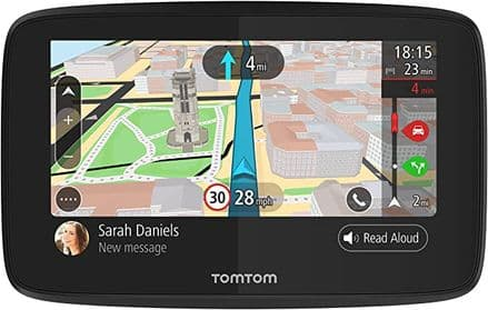 TomTom Car Sat Nav GO 5200, 5 Inch with Handsfree Calling, Siri, Google Now, Updates via WiFi
