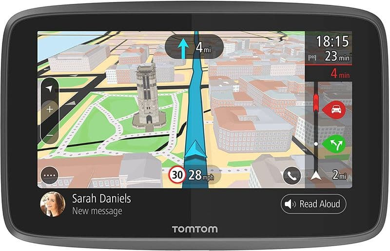 TomTom Go Professional 6200 Truck Satnav with Lifetime World Maps and Traffic Updates