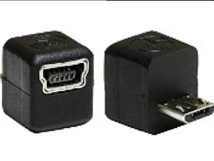 Tomtom Mini B To Micro B USB Adaptor (Adapter)