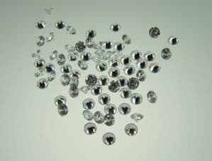 3.0 mm Round Clear Cubic Zirconia AAAA (pk of 10)