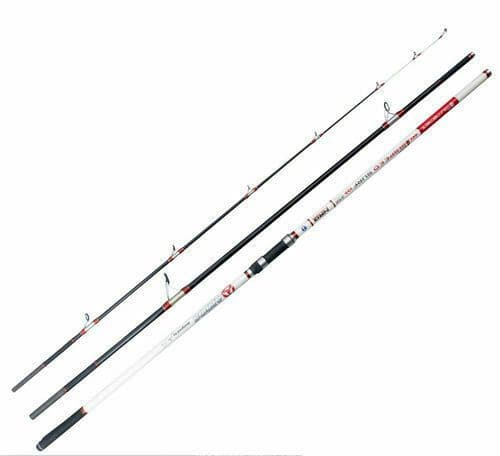 Akios AIRSPEED 435  14ft , 3 piece Fixed Spool/Multiplier  Continental Surf rod