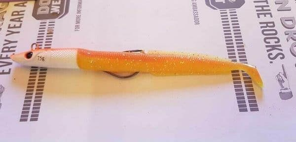 Flashmer Blue Equille Weedles Sandeel Lure 86g 4 colours