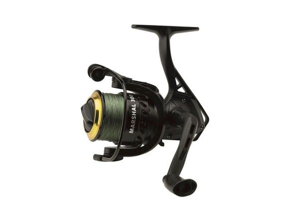 Kinetic Marshall 4000 FD 3bb spinning reel pre loaded with braid