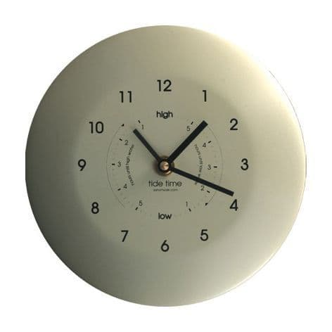 Stainless Steel Powder Coated Tide and Time clock..