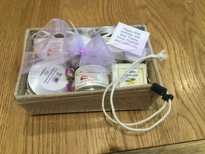 £30 Giftbox in re-usable Sisal Box