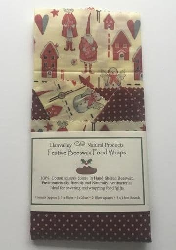 Festive Beeswax Food Wraps