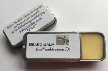 Pocket size Beard Balm with Frankincense & Argon Oil