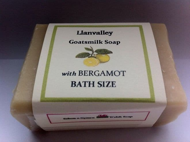 Soap - Bath Sized with Goats milk and Bergamot