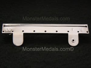 FULL SIZE MEDAL MOUNTING BROOCH BAR 3 SPACE