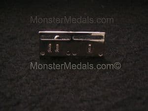 MINIATURE MEDAL MOUNTING BROOCH BAR 2 SPACE