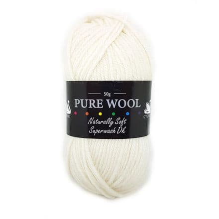 Cygnet Pure Wool Superwash DK - 50g - 25 Shades