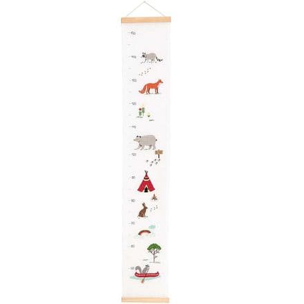 Rico Animals Tape Measure Cross Stitch/Embroidery Kit