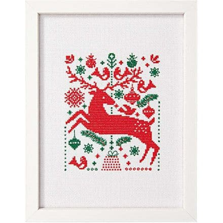 Rico Deer Picture Cross Stitch Kit