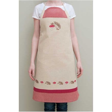 Rico Family Hedgehogs Apron Embroidery Kit