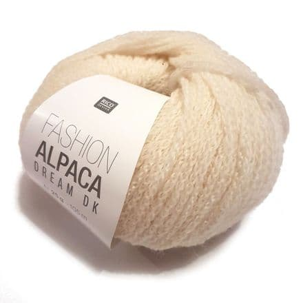 Rico Fashion Alpaca Dream DK - 25g - 11 Shades