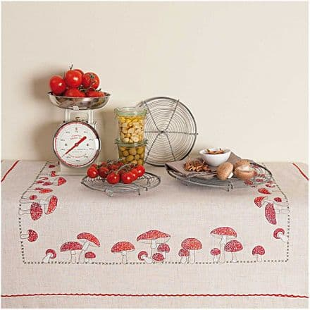 Rico Fly Agaric Table Cloth Embroidery Kit