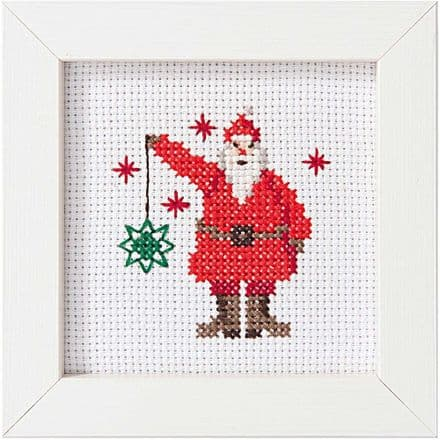 Rico Santa Claus Picture Cross Stitch Kit