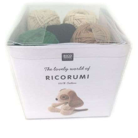 Ricorumi Puppies Dog Crochet Kit