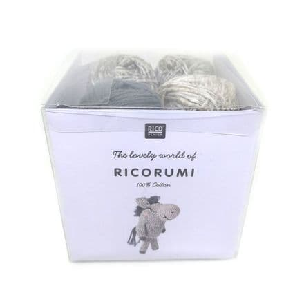 Ricorumi Puppies Donkey Crochet Kit