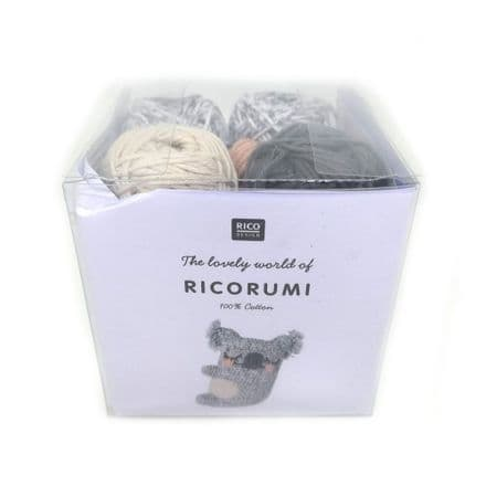 Ricorumi Puppies Koala Crochet Kit