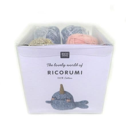 Ricorumi Puppies Narwhal Crochet Kit