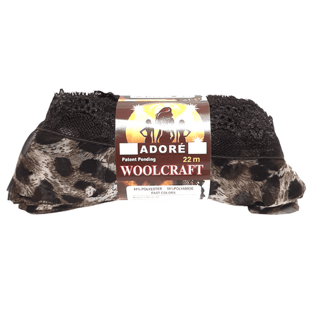 Woolcraft Adore Ribbon/Lace Scarf Yarn - 2 Shades