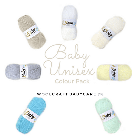 Woolcraft Babycare DK - Baby Unisex Colour Pack