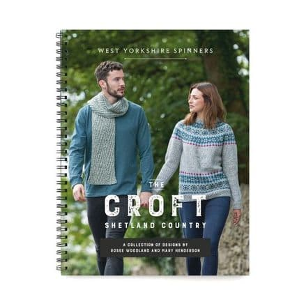 WYS The Croft Shetland Country Collection 8 Designs Hand Knit Book