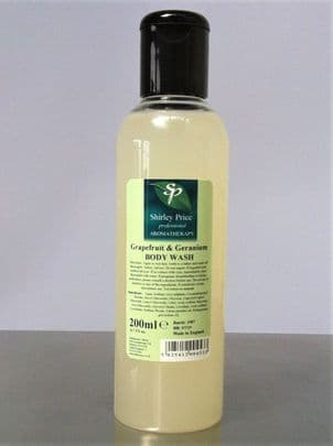 Grapefruit & Geranium Body Wash 200ml