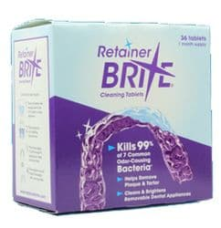 Retainer Brite - Retainer Cleaning Tablets
