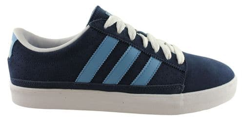 Adidas Originals Rayado Mens Navy Blue Suede sneakers fashion trainers retro