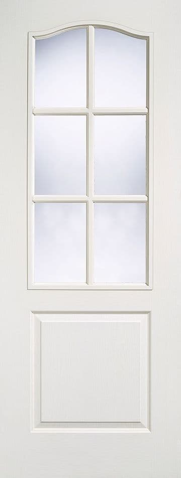 White Moulded Classical Glazed (6L)