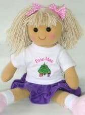 Personalised Christmas Doll Lesa
