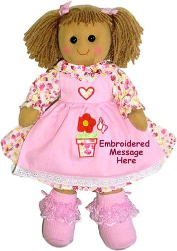 Personalised Christmas Doll  Sienna