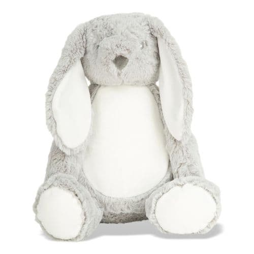 Personalised Grey  Bunny Rabbit