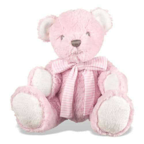 Personalised Hug A Boo Pink Bear