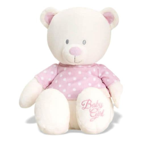 Personalised Pink Nursery Bear