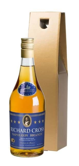 Personalised French Brandy - Choice of Gift Box