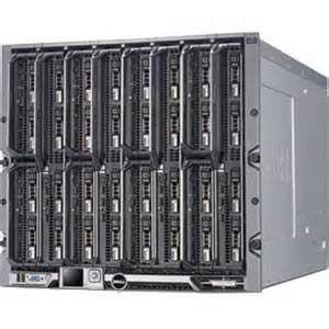 DELL M1000e Blade Enclosure w/16 X M520 Server Blades *192 CPU Cores * 512GB RAM VMWARE HPC Cluster