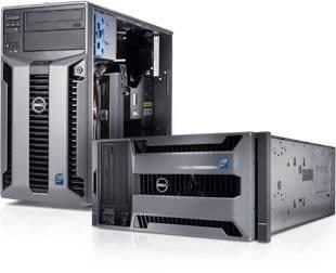 "Dell PowerEdge T710 Rackmount Server  2 X Intel Xeon HEX-CORE X5650  32gb RAM 16 X300gb 2.5"" SAS ESXI 6.0.0"