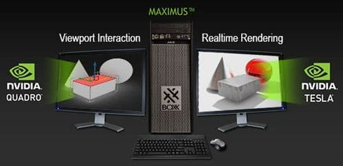 High Performance GPU Accelarated Rendering  Server  / 3DS MAX