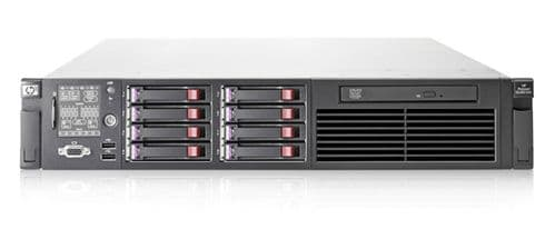 HP PROLIANT DL380 G7 Rack Server 2 X  SIX CORE X5650 2.66GHZ  72GB RAM 8x 146 SAS VMWARE EXI 6.5