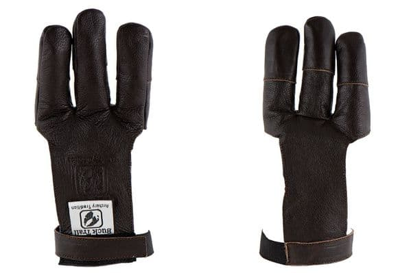 Buck Trail 3 Finger Leather Glove