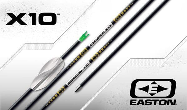 Easton X10 Arrows 12 pack